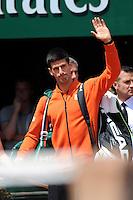 Novak DJOKOVIC  - 07.06.2015 - Jour 15 - Finale   - Roland Garros 2015<br />Photo : Nolwenn Le Gouic / Icon Sport