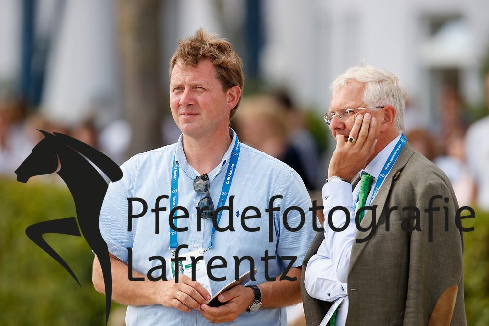 Rothenberger, Sven (GER);<br /> Hess, Christoph (GER) <br /> Aachen - CHIO 2017<br /> © www.sportfotos-lafrentz.de/Stefan Lafrentz