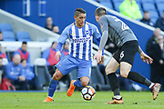 Brighton and Hove Albion midfielder Anthony Knockaert (11) during the The FA Cup match between Brighton and Hove Albion and Coventry City at the American Express Community Stadium, Brighton and Hove, England on 17 February 2018. Picture by Phil Duncan.