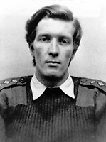 Captain John H Young, Royal Army Ordance Corps, 22 years, from Basingstoke, England, who died 15th July 1972 whilst attempting to defuse a Provisional IRA milk churn bomb in South Armagh. He was the first bomb disposal officer to die in that area where the IRA were particularly active. 197300000731<br /> <br /> Copyright Image from Victor Patterson, 54 Dorchester Park, <br /> Belfast, UK, BT9 6RJ<br /> <br /> t1: +44 28 9066 1296 (from Rep of Ireland 048 9066 1296)<br /> t2: +44 28 9002 2446 (from Rep of Ireland 048 9002 2446)<br /> m: +44 7802 353836<br /> <br /> e1: victorpatterson@me.com<br /> e2: victorpatterson@gmail.com<br /> <br /> www.victorpatterson.com<br /> <br /> Please see my Terms and Conditions of Use at www.victorpatterson.com. It is IMPORTANT that you familiarise yourself with them.<br /> <br /> Images used on the Internet must be visibly watermarked i.e. © Victor Patterson within the body of the image and copyright metadata must not be deleted. Images used on the Internet have a size restriction of 4kbs and will be chargeable at current NUJ rates unless agreed otherwise.<br /> <br /> This image is only available for the use of the download recipient i.e. television station, newspaper, magazine, book publisher, etc, and must not be passed on to any third party. It is also downloaded on condition that each and every usage is notified within 7 days to victorpatterson@me.com<br /> <br /> The right of Victor Patterson to be identified as the author is asserted in accordance with The Copyright Designs And Patents Act (1988).