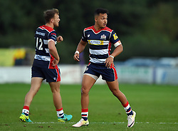 Elias Caven of Bristol United and Nick Carpenter of Bristol United  - Mandatory by-line: Joe Meredith/JMP - 12/09/2016 - RUGBY - Clifton RFC - Bristol, England - Bristol United v Harlequins A - Aviva A League