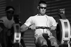 Australian Rowing Olympic Trials, March 2012, Sydney International Rowing Centre - Scott Brennan warming up