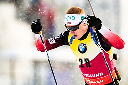 March 9, 2019 - –Stersund, Sweden - 190309 Johannes Thingnes Bö of Norway competes in the Men's 10 KM sprint during the IBU World Championships Biathlon on March 9, 2019 in Östersund..Photo: Johan Axelsson / BILDBYRÃ…N / Cop 245 (Credit Image: © Johan Axelsson/Bildbyran via ZUMA Press)