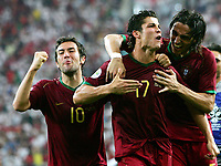 Jubel Cristiano Ronaldo Portugal <br />