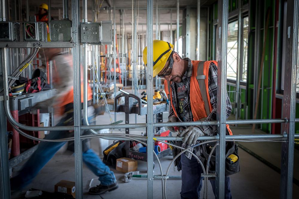 DKD Electric Sandia Casino Jobsite Photos. Photo By Mike Radigan, Rad5 Media, LLC.