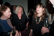 DRUSILLA BEYFUS; ALEXANDRA SHULMAN, Can we Still Be Friends- by Alexandra Shulman.- Book launch. Sotheby's. London. 28 March 2012.
