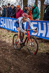 Ian FIELD (58,GBR), 5th lap at Men UCI CX World Championships - Hoogerheide, The Netherlands - 2nd February 2014 - Photo by Pim Nijland / Peloton Photos