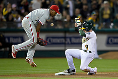 20140919 - Philadelphia Phillies at Oakland Athletics