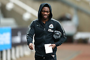 Christian Atsu (#30) of Newcastle United arrives ahead of the Premier League match between Newcastle United and Southampton at St. James's Park, Newcastle, England on 10 March 2018. Picture by Craig Doyle.