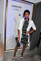 TOLULA ADEYEMI at the launch of Maison Triumph, 71 Monmouth Street, Covent Garden, London on 14th February 2013.