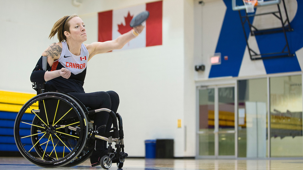 Becky Richter, from Saskatoon, Sask., has blossomed into one of the best in her sport. The para-athletics star showed off her talents at the Parapan Am Games, winning gold in the club throw, and bronze in the discus