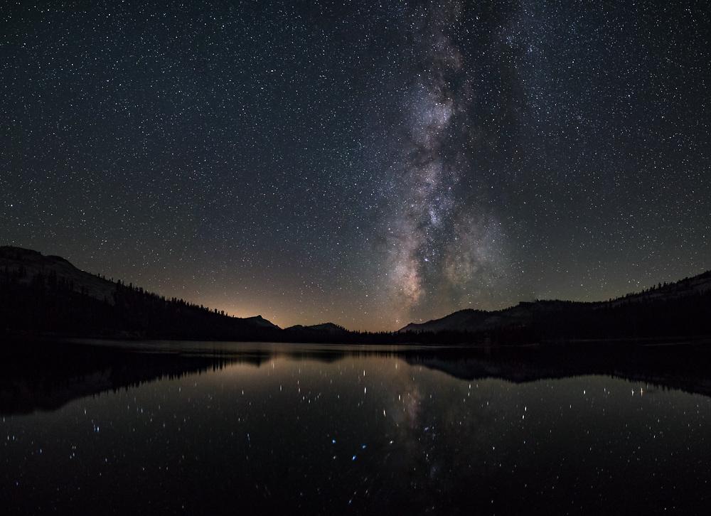 Five image stitched panorama.