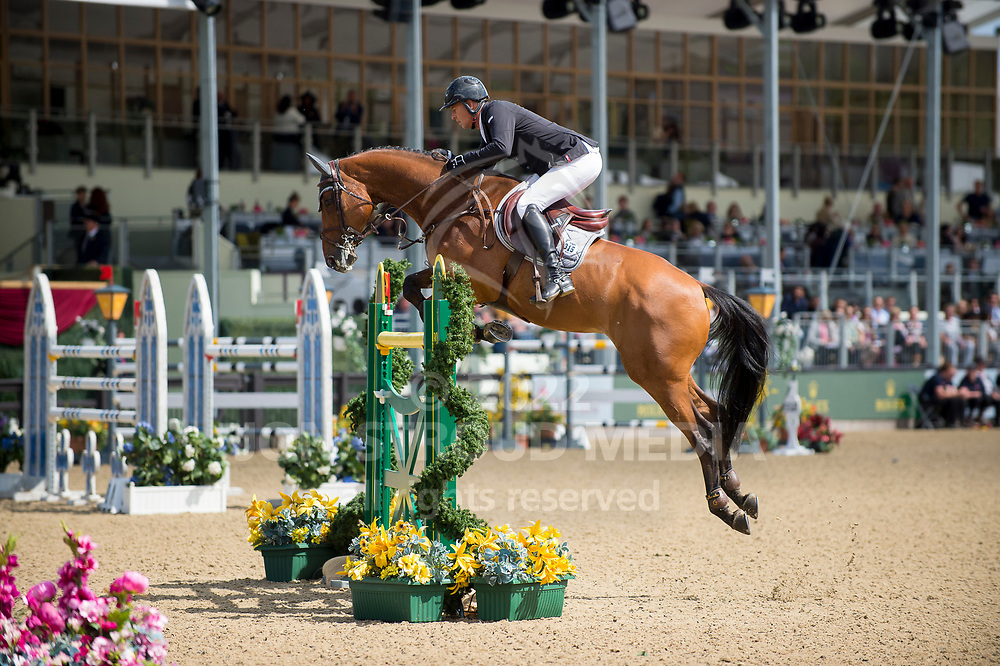 Marc  Houtzager  (NED) & Sterrehof´S Calimero - Rolex Grand Prix - CSI5* Jumping - Royal Windsor Horse Show - Home Park, Windsor, United Kingdom - 14 May 2017