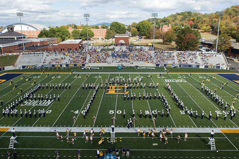 October 7, 2017 - Johnson City, Tennessee - William B. Greene Jr. Stadium<br /> <br /> Image Credit: Dakota Hamilton/ETSU