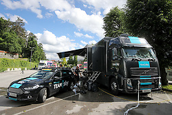 Team sky truck before press conference of cycling race Po Sloveniji - Tour de Slovenie 2015 on June 15, 2016 in Hotel Jama, Postojna, Slovenia. Photo by Morgan Kristan / Sportida