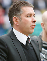 Photo: Steve Bond/Richard Lane Photography. Preston North End v Cardiff City. Coca Cola Championship. 27/02/2010. Darren Ferguson watches his PNE team
