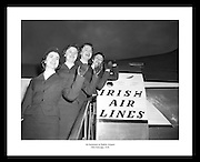 Great shot by Lensmen Photographic Agency of the Air hostesses from Aer Lingus at Dublin Airport. If you are looking for an unique anniversary gift an old Irish Photo is always a good idea.