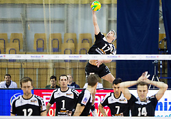 27-01-2015 SLO: CEV CL ACH Volley Ljubljana - Berlin Recycling Volleys, Ljubljana<br /> Rob Bontje of Berlin Volleys during volleyball match between ACH Volley Ljubljana (SLO) and Berlin Recycling Volleys (GER) in Round #6 in Pool C of CEV DenizBank Volleyball Champions League.
