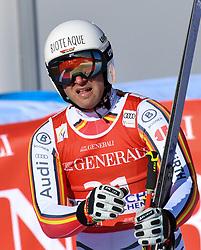 26.10.2019, Kandahar, Garmisch, GER, FIS Weltcup Ski Alpin, Abfahrt, Herren, im Bild Romed Baumann (GER) // Romed Baumann of Germany reacts after his run in the men's downhill of FIS Ski Alpine World Cup at the Kandahar in Garmisch, Germany on 2019/10/26. EXPA Pictures © 2020, PhotoCredit: EXPA/ Erich Spiess