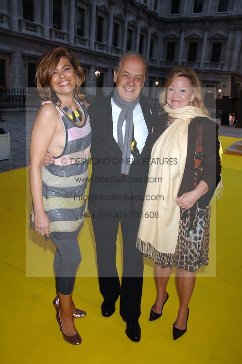 Left to right, SARAH & JOHN STANDING and KAY SAATCHI at the Royal Academy of Arts Summer Exhibition Party at the Royal Academy, Piccadilly, London on 6th June 2007.<br /><br />NON EXCLUSIVE - WORLD RIGHTS