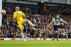 Harry Winks of Tottenham Hotspurtakes a shot at goal - Mandatory by-line: Jason Brown/JMP - 12/03/2017 - FOOTBALL - White Hart Lane - London, England - Tottenham Hotspur v Millwall - Emirates FA Cup Quarter Final