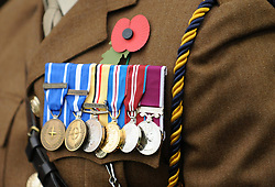 Remembrance Service - Mandatory by-line: Neil Brookman/JMP - 18/11/2017 - FOOTBALL - Memorial Stadium - Bristol, England - Bristol Rovers v AFC Wimbledon - Sky Bet League One
