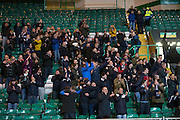 Dundee fans at full time - Celtic v Dundee - Ladbrokes Scottish Premiership at Dens Park<br /> <br />  - &copy; David Young - www.davidyoungphoto.co.uk - email: davidyoungphoto@gmail.com