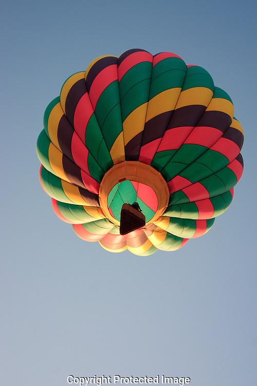 Early morning balloon launch,Yuma Arizona