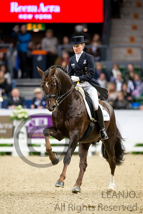 Helen Langehanenberg - Damon Hill NRW<br /> Reem Acra FEI World Cup Final 2013<br /> &copy; DigiShots