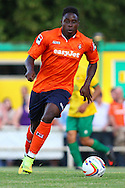 Pelly Mpanzu of Luton Town during the Pre Season Friendly match at Top Field, Hitchin<br /> Picture by David Horn/Focus Images Ltd +44 7545 970036<br /> 17/07/2014
