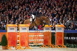 Van Der Schans Patrick, (NED), Broere Extase<br /> Springen Klasse Z-ZZ<br /> KWPN Hengstenkeuring - 's Hertogenbosch 2016<br /> © Hippo Foto - Dirk Caremans<br /> 04/02/16