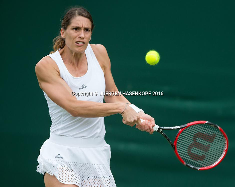 Andrea Petkovic (GER)<br /> <br /> Tennis - Wimbledon 2016 - Grand Slam ITF / ATP / WTA -  AELTC - London -  - Great Britain  - 28 June 2016.