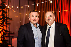 Matjaz Kek, head coach of Slovenia and Radenko Mijatovic, president of NZS during Traditional New Year party of of the Slovenian Football Association - NZS, on December 20, 2018 in Gospodarsko razstavisce, Ljubljana, Slovenia. Photo by Vid Ponikvar / Sportida
