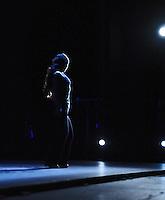 Rocio Molina rehearses  at Sadler's Wells Flamenco festival