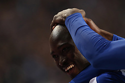 October 28, 2018 - Porto, Porto, Portugal - Porto's Portuguese midfielder Danilo Pereira celebrates after scoring a goal that would be annulled by the video-referee during the Premier League 2018/19 match between FC Porto and CD Feirense, at Dragao Stadium in Porto on October 28, 2018. (Credit Image: © Dpi/NurPhoto via ZUMA Press)