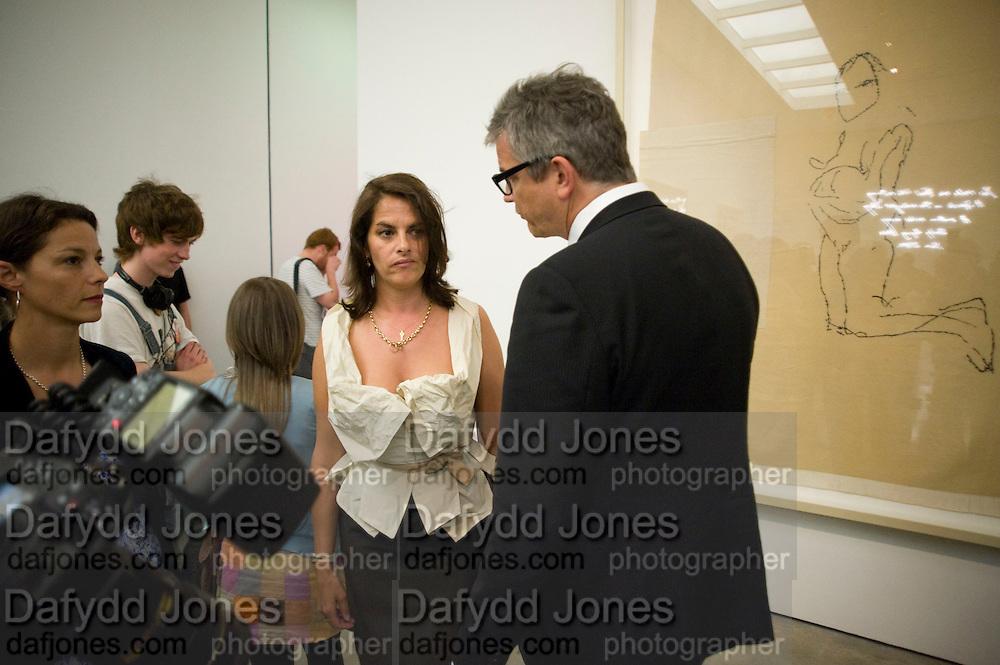 JAY JOPLING; TRACEY EMIN, Tracey Emin opening. White Cube. Mason's Yard. London. 28 May 2009.