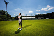 20160719 ANGLEUR Académie Robert Louis-Dreyfus Belgium training centre Standard de Liege portrait Matthieu Dossevi French soccer player signed for the club until 2020 pict FRANK ABBELOOS Isosport