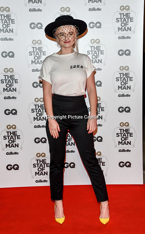 Grace Chatto Arrivers at GQ 30th Anniversary celebration at Sushisamba, The Market, Convent Garden on 29 October 2018.