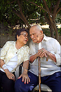 Family Portraits - Elderly Couple on their 60th Anniversary.