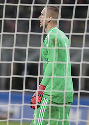 November 13, 2017 - Milan, Italy - Robin Olsen during the playoff match for qualifying for the Football World Cup 2018  between Italia v Svezia, in Milan, on November 13, 2017. (Credit Image: © Loris Roselli/NurPhoto via ZUMA Press)
