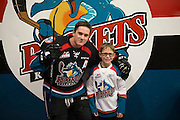 KELOWNA, CANADA - SEPTEMBER 24: Pepsi Player of the game at the Kelowna Rockets on September 24, 2016 at Prospera Place in Kelowna, British Columbia, Canada.  (Photo By Cindy Rogers/Nyasa Photography,  *** Local Caption ***