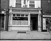01/07/1969<br /> 07/01/1969<br /> 01 July 1969<br /> Pubs in and about Dublin. Davy Byrnes, 21 Duke St, Dublin, Co. Dublin City