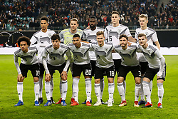 November 15, 2018 - Leipzig, Germany - Germany players pose for a photo ahead of the international friendly match between Germany and Russia on November 15, 2018 at Red Bull Arena in Leipzig, Germany. (Credit Image: © Mike Kireev/NurPhoto via ZUMA Press)