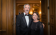 Vice President, Physician Alignment at Mercy Hospital and Medical Center, Ron Arnone and Pina Arnone at the Mercy Hospital & Medical Center's 51st Dinner Dance Gala. The event took place at the Hilton Chicago on September 28, 2018. Dr. Robert M. Gasior and Honorable Patrick Huels were honored at the event, emceed by Kristen Nicole, anchor at Fox 32 Chicago. Proceeds will benefit Cardiovascular Services including screening, intervention, rehabilitation, wellness and prevention programs for patients and families. (Photo:Natalie Battaglia)