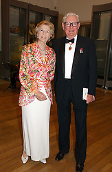 SIR ANTHONY & LADY TENNANT at The Royal Academy dinner before the official opening of the Summer Exhibition held at the Royal Academy of Art, Burlington House, Piccadilly, London W1 on 6th June 2006.<br />