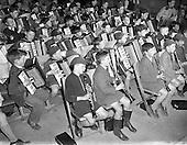1958 - De La Salle school band, Ballyfermot, Dublin