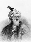 Flavius Josephus (c37-c100) Jewish soldier and historian. Engraving.