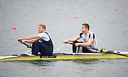 Caversham, United Kingdom. Bow Pete REED abd Constantine LOULOUDIS competing in the 2015 GBRowing Team, December Trials at the Training Base Nr Reading.<br /> <br /> Saturday  19/12/2015<br /> <br /> [Mandatory Credit; Peter SPURRIER/ntersport Images] [Mandatory Credit; Peter SPURRIER/Intersport Images]