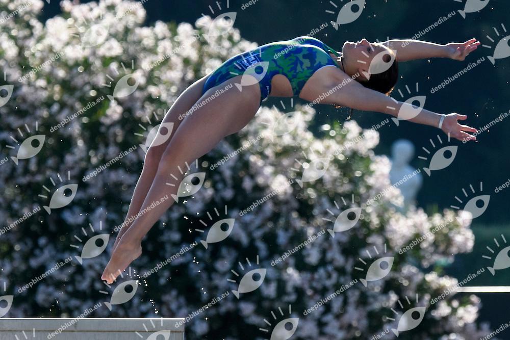 Chiara Pellacani <br /> 10m piattaforma donne <br /> Roma 20-06-2016 Stadio del Nuoto Foro Italico Tuffi Campionati Italiani <br /> Foto Andrea Staccioli Insidefoto