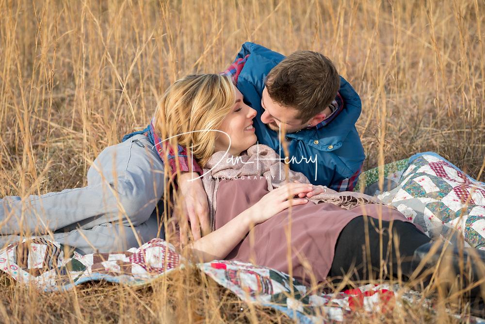 Engagement photo session for Jessica Faith Reagan and Michael Eldridge. Photo by Dan Henry / DanHenryPhotography.com
